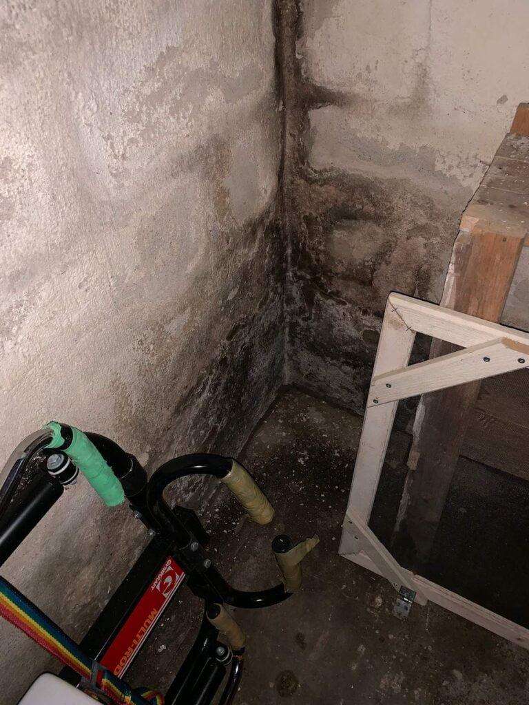 Vattenskada källaren